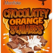mornflake chocolatey orange squares