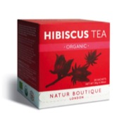 Natur Boutique's hibiscus tea