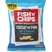 FishnChips salt & vinegar 150g
